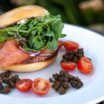 Salmon Burger | The Hub Cafe, Bathurst